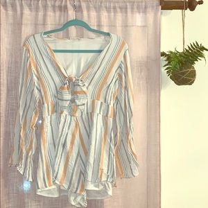Altar'd State Other - Altard State striped romper